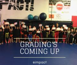 grading at impact combat